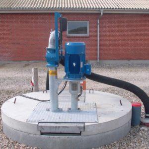 Medium-pressure pump